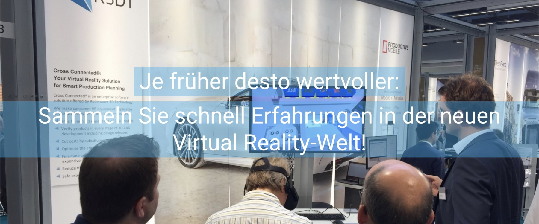 R3DT - MEET YOUR REALITY | Virtual Reality for Industrial