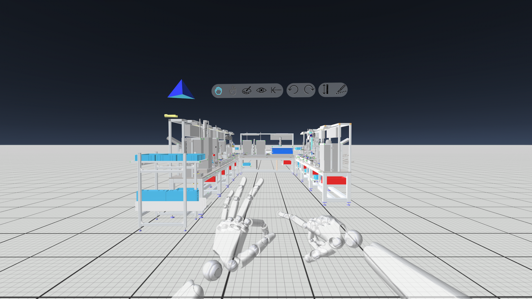 3D CAD Modell in VR